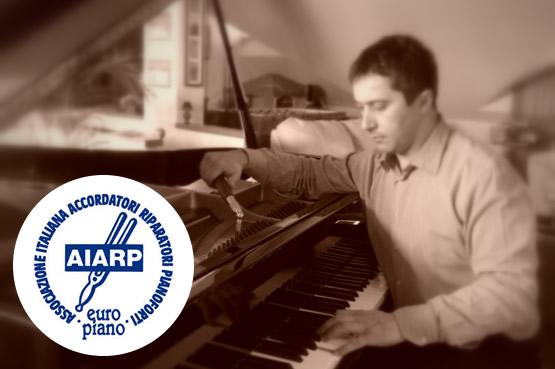 Roberto Martucci al pianoforte